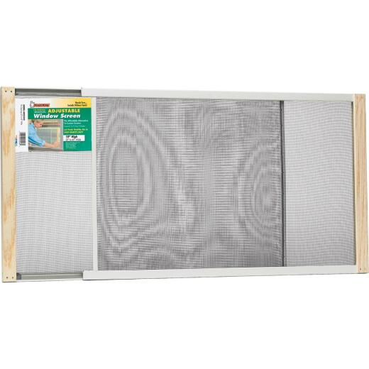 Frost King 25 to 45 In. W. x 15 In. H. Adjustable Metal Rail Screen