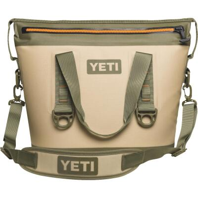 Yeti Hopper Two 20 Tan Soft-Side Cooler (16-Can)