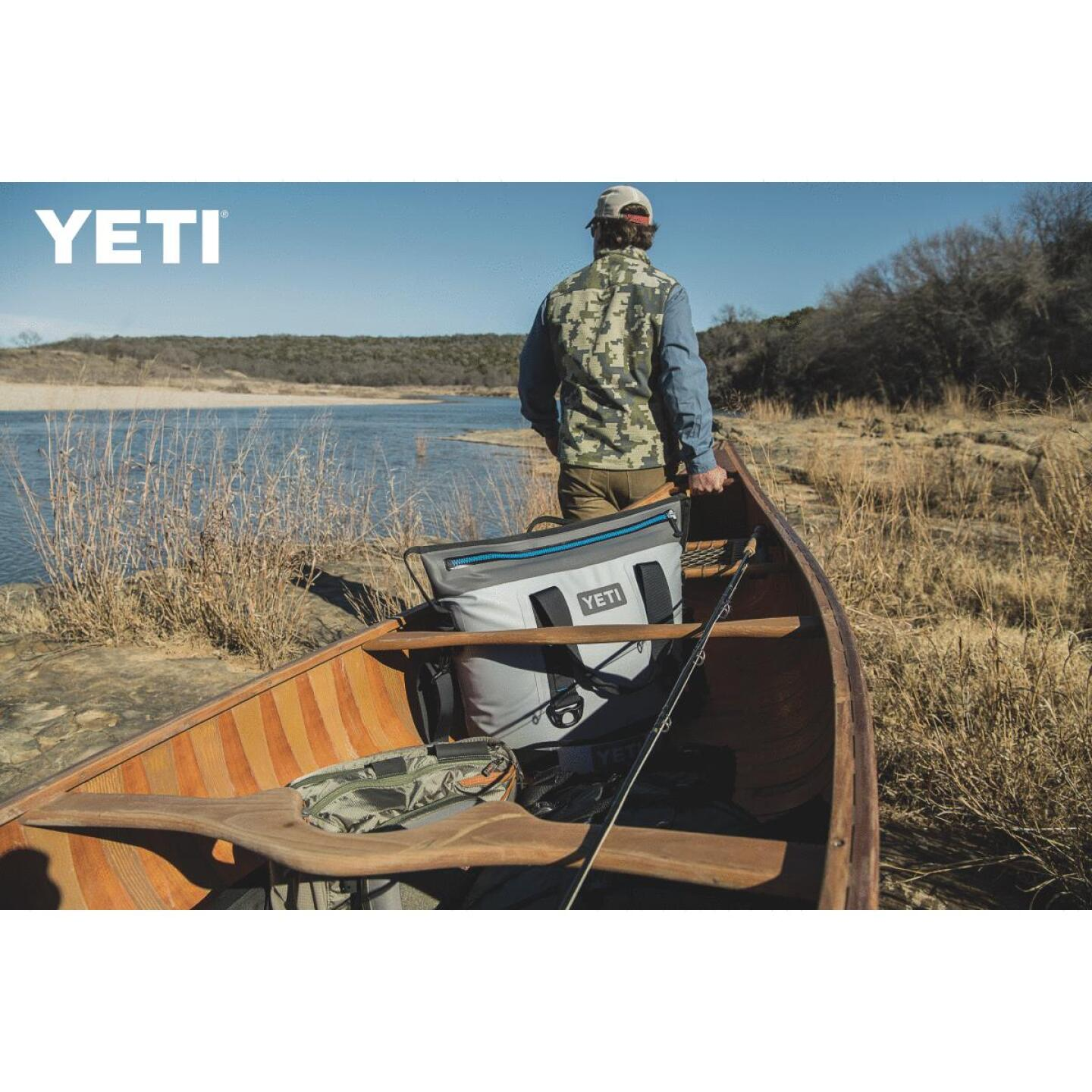 Yeti Hopper Two 30 Gray Soft-Side Cooler (23-Can) Image 2